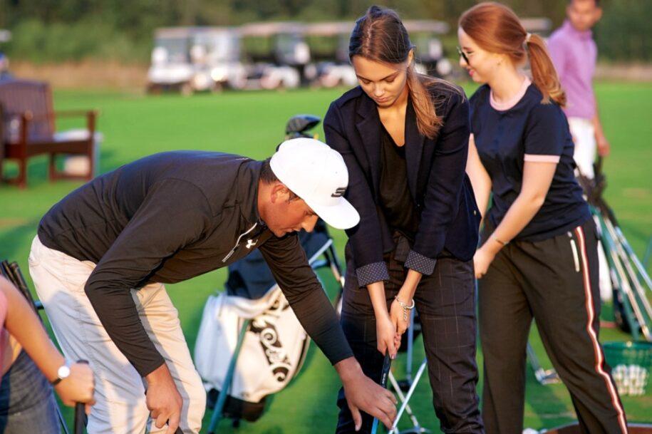 гольф для начинающих